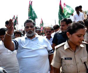 JAP demonstaration to demand special status for Bihar