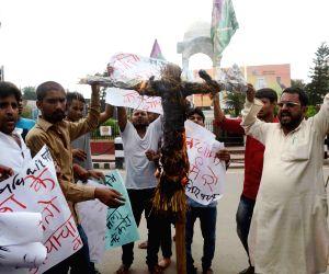 Jan Adhikar party's demonstration