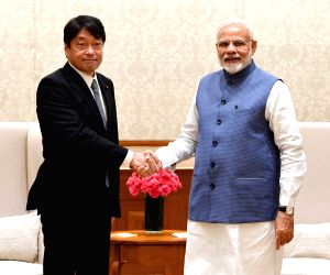 Japanese Defence Minister calls on PM Modi
