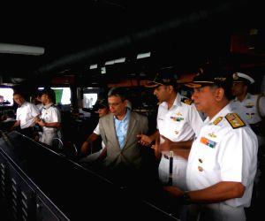 Indian Naval ships visit Singapore ()
