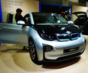 SOUTH KOREA-JEJU-ELECTRIC VEHICLE EXPO