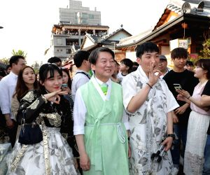 SOUTH KOREA JEONJU PRESIDENTIAL ELECTION CAMPAIGN
