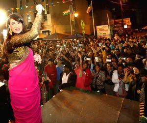 Jersey City (US):  Preeti Jhangiani during a Diwali programme
