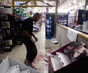 Terror attack at Rami Levi supermarket
