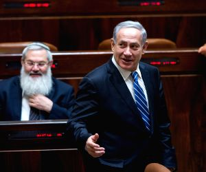 Israeli politicians voted in favor of dissolving the Knesset parliament