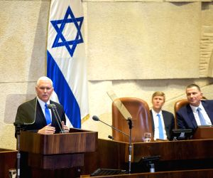 MIDEAST JERUSALEM U.S. VICE PRESIDENT PENCE SPEECH