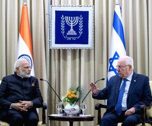 MIDEAST JERUSALEM ISRAEL INDIA MEETING