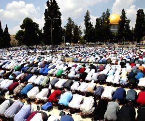 MIDEAST JERUSALEM AL AQSA MOSQUE COMPOUND RAMADAN