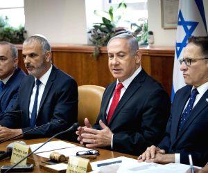 MIDEAST JERUSALEM NETANYAHU CABINET MEETING