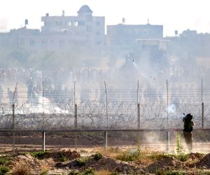 Israel targets Hamas positions after Gaza shelling