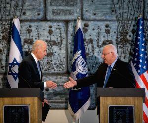 ISRAEL-U.S. VICE PRESIDENT-PRESS CONFERENCE