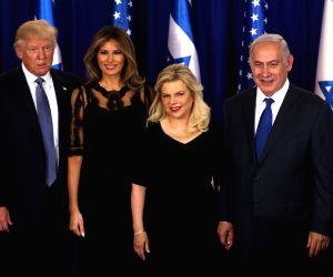 MIDEAST JERUSALEM ISRAEL NETANYAHU U.S. TRUMP MEETING