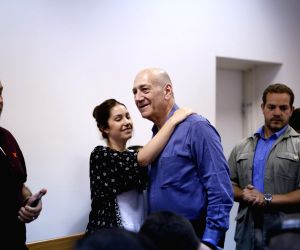 MIDEAST JERUSALEM ISRAEL FORMER PM OLMERT CORRUPTION SENTENCE