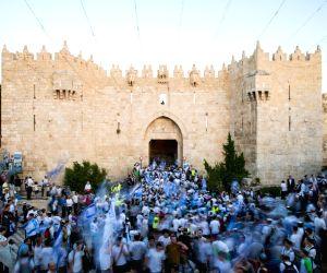 MIDEAST JERUSALEM DAY MARCH PROTEST