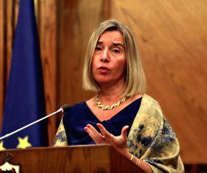 JORDAN-AMMAN-EUROPEAN UNION-PRESS CONFERENCE