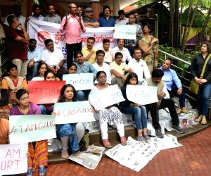 Gauri Lankesh killing - Journalists protest