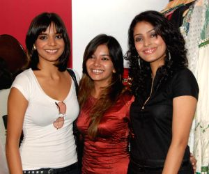 Juhi Pande at Megha Grover store launch at Malad.