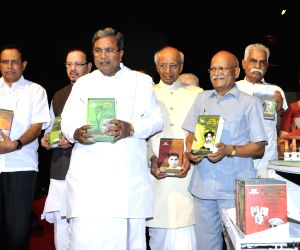 Releasing Books on Kuvempu Literature