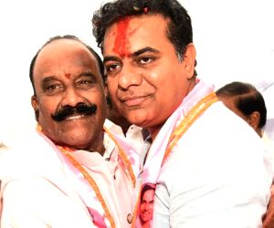 K. T. Rama Rao takes charge as the working president of TRS