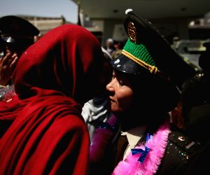 Graduation ceremony in Kabul