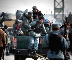 AFGHANISTAN KABUL PROTEST CHARLIE HEBDO