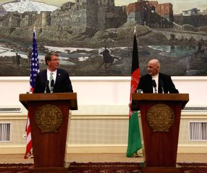 AFGHANISTAN KABUL U.S.DEFENSE SECRETARY VISIT