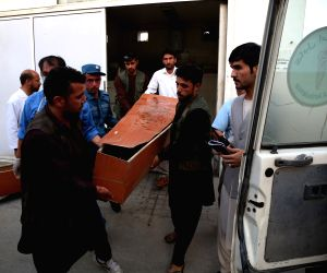 AFGHANISTAN-KABUL-SUICIDE ATTACK