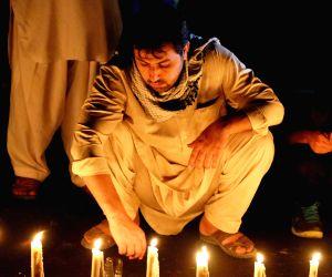 AFGHANISTAN KABUL SUICIDE ATTACK VIGIL