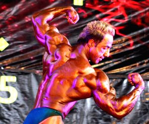 AFGHANISTAN-KABUL-BODY BUILDING COMPETITION