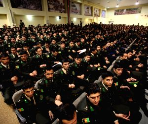 AFGHANISTAN KABUL ARMY OFFICERS GRADUATION CEREMONY