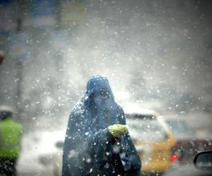 AFGHANISTAN KABUL SNOW