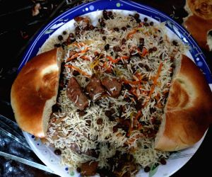 AFGHANISTAN KABUL TRADITIONAL FOOD