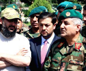 AFGHANISTAN-KABUL-SON OF PAKISTANI FORMER PM-HANDOVER