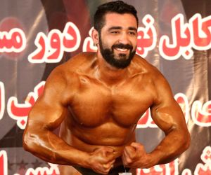 AFGHANISTAN-KABUL-BODY BUILDER COMPETITION