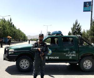 AFGHANISTAN KABUL BLAST GUNFIRE