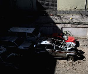 14 dead in Taliban attack on aid group in Kabul
