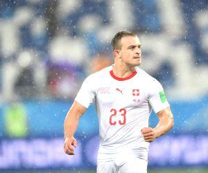 Kosovo-born Shaqiri denies political message in celebratory gesture