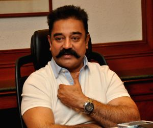 Kamal Hassan during a interview