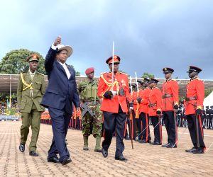 UGANDA KAMPALA PRESIDENT INAUGURATION