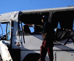 AFGHANISTAN KANDAHAR ROAD ACCIDENT