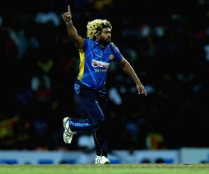 Kandy: Sri Lanka's Lasith Malinga celebrates fall of a wicket during the 3rd T20I between Sri Lanka and New Zealand at Pallekele International Cricket Stadium in Kandy, Sri Lanka on Sep 6, 2019. (Photo: Twitter/@ICC)