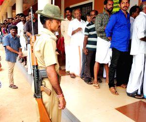 Polling begins in Kerala to elect 20 LS members