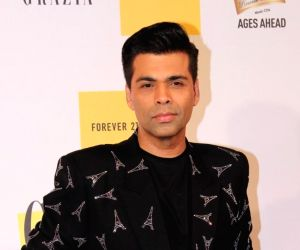 Karan Johar turns heads at IIFA 2019 with swag in black outfit