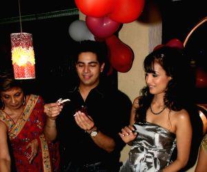 Karan Mehra's birthday bash.