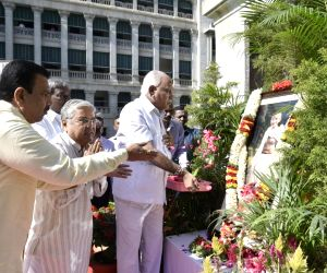 Tributes paid to Mahatma Gandhi on Martyrs Day