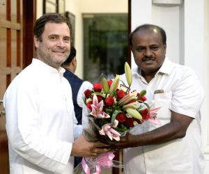 Discussed government formation with Rahul, Sonia: Kumaraswamy
