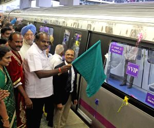 Bengaluru metro doubles coaches to 6 on one route