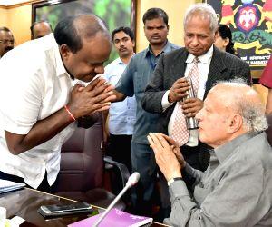 Karnataka CM meets Dr. M. S. Swaminathan