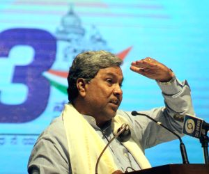 Siddaramaiah celebrates three years of his government