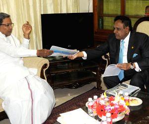 Karnataka CM with special Malaysian envoy